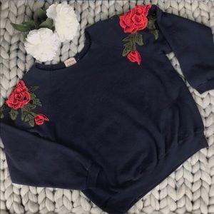 LF Off The Shoulder Sweatshirt